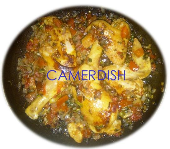 Poulet à la camerdish