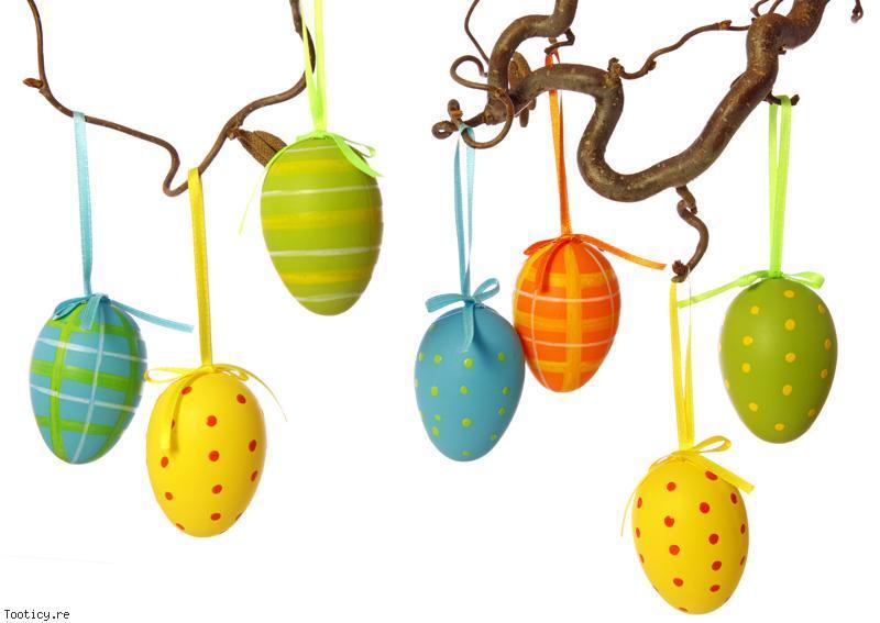 Arbre à oeufs pour Pâques