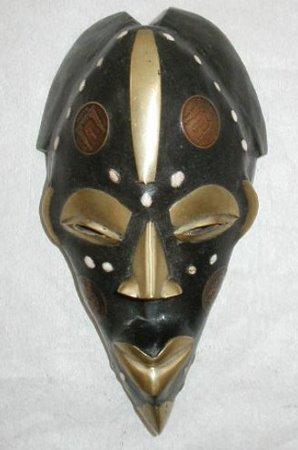 Le masque cela marchin autour des yeux