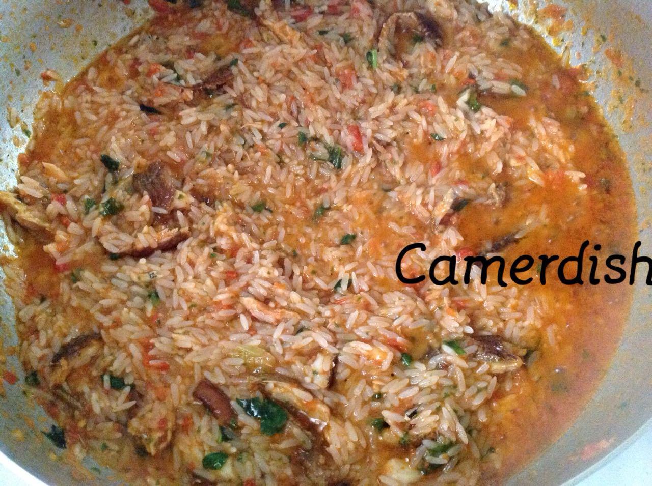 Riz Saute Facon Camerounaise